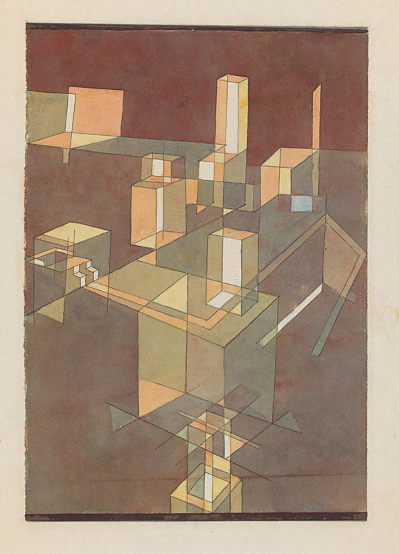 PAUL KLEE AND TRANSPARENCY